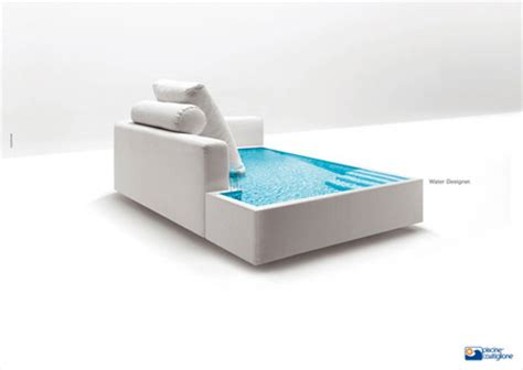 swimming pool sofa creative and unusual sofa designs