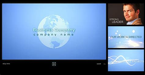 intro flash templates business teamflash intro template at www