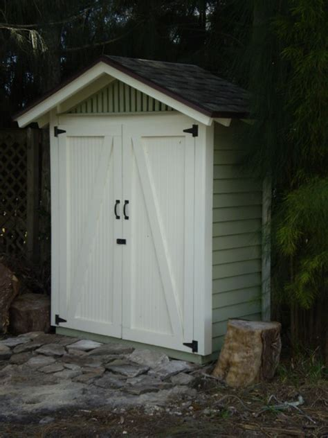 Small Outside Storage Shed Small Outdoor Storage Sheds Traditional Garage And