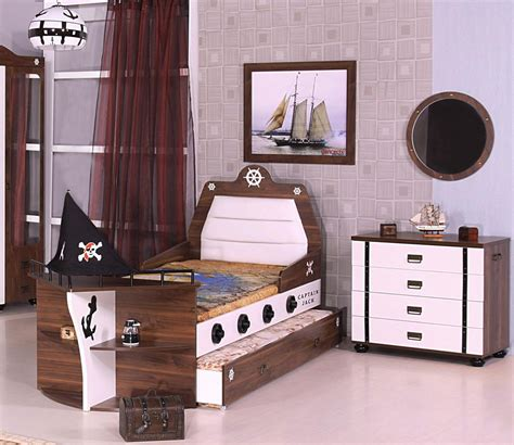 Kinderzimmer Junge Pirat by 7er M 246 Bel Set Piratenbett Kinder Bett Jungen Pirat