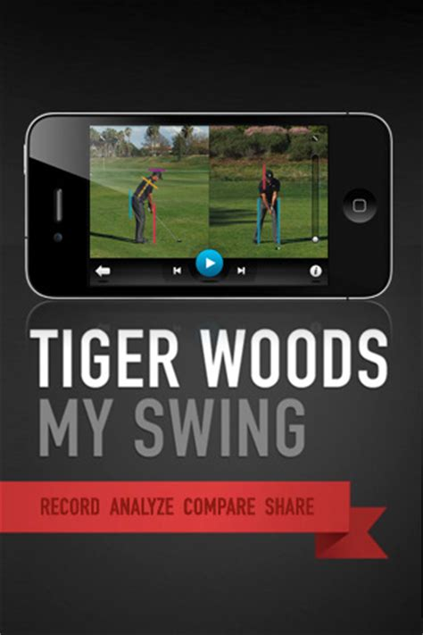 tiger woods swing app tiger woods develops an instructional swing app