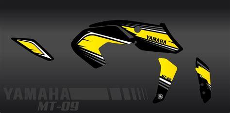 Aufkleber Yamaha Mt 07 by Kit Dekor Racing Gelb Idgrafix Yamaha Mt 09 Nach 2017
