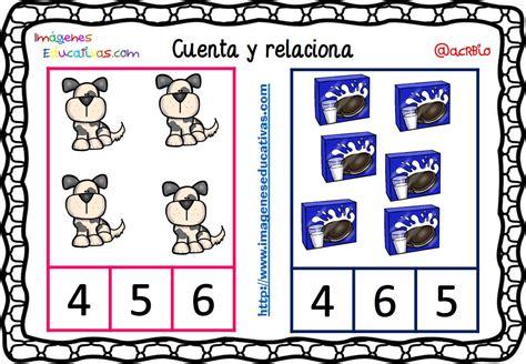 imagenes educativas cuenta y relaciona fichas para aprender a contar 4 imagenes educativas