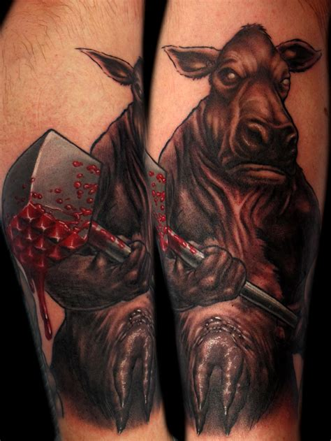 butcher tattoo you ve seen the butcher chris black
