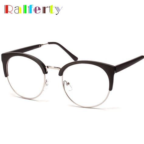 Frame Korea Frame Classic Kacamata Retro Frame Vi Limited aliexpress buy ralferty korea semi rimless eyeglasses frames eyewear