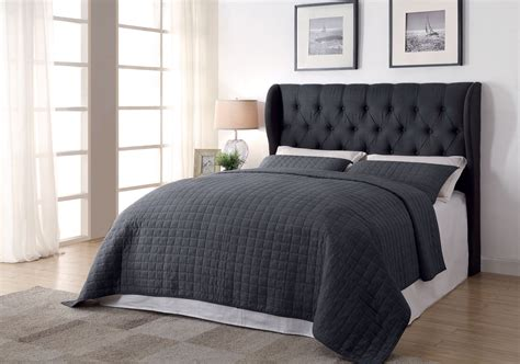 hello headboard awesome quilted headboard bed designs black linen