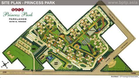 Layout Floor Plan bptp princess park site plan sector 86 faridabad