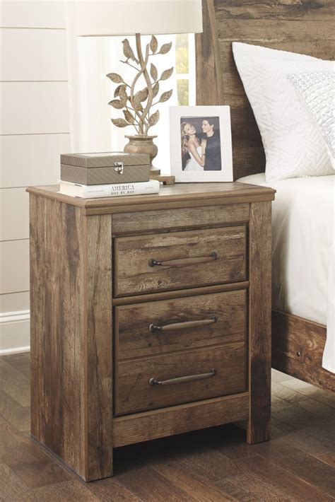 night stands for bedrooms blaneville brown two drawer night stand b224 92