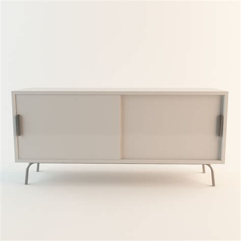 Ps Cabinet White by 3d Model Ps Cabinet