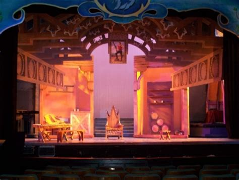 DISNEY'S BEAUTY AND THE BEAST SCENERY AND PROPS FOR RENT Music Theatre International