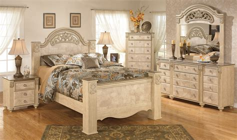 www ashleyfurniture com bedroom sets buy ashley furniture saveaha poster bedroom set