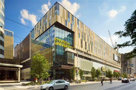 Ted Rogers School Of Management Mba by Ted Rogers School Of Management Architecture By Zeidler