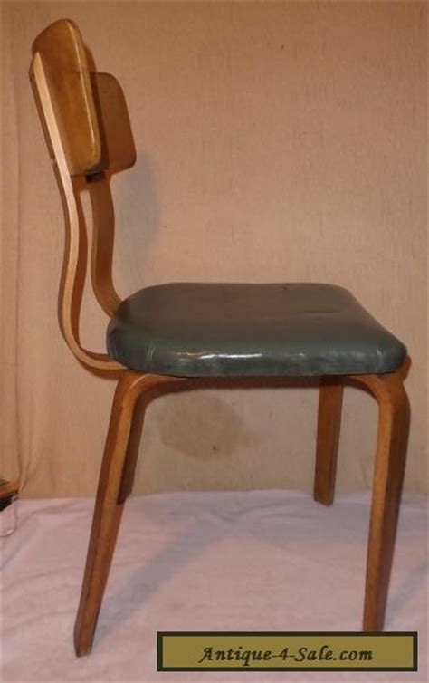 vintage thonet bentwood chair side dining mid century