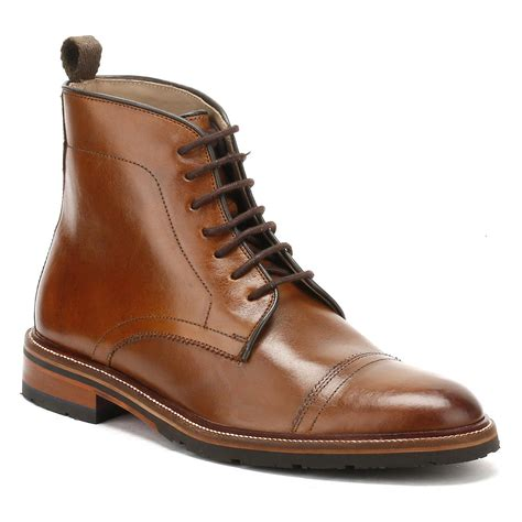 cognac boots for lyst oliver sweeney mens cognac boxgrove boots in brown