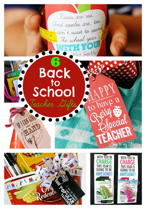 gift ideas for school gifts and free printables