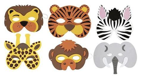 printable endangered animal masks free printable animal masks templates animal mask each