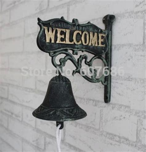 stanley s gift card shop vintage home decor christmas aliexpress com buy antique cast iron welcome dinner bell