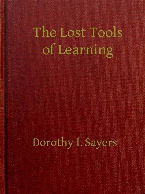 the lost tools of learning books the lost tools of learning