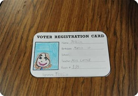 make voter card 1000 ideas about election day on election