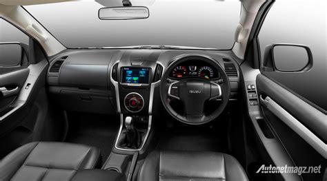 isuzu dmax interior isuzu d max facelift interior details autonetmagz