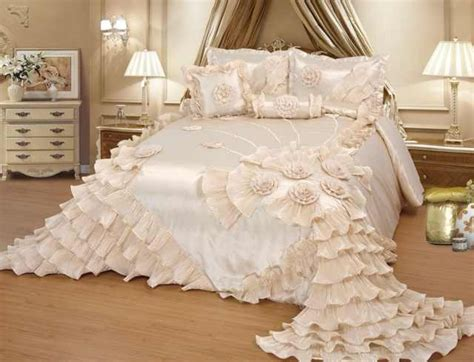cream wedding bedding oversize comforter bedspread quilts