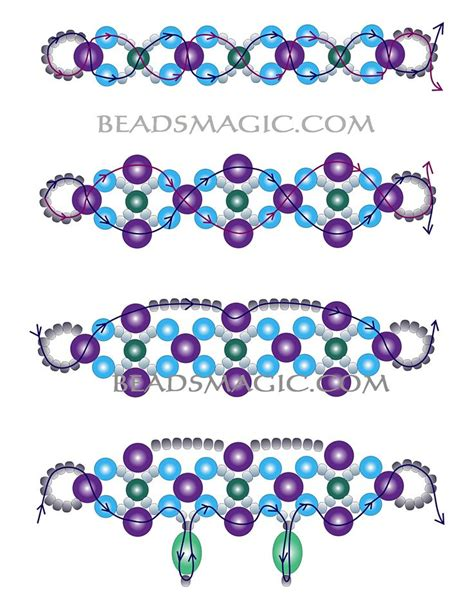 beaded superduo 2 hole bead valentines heart chain 270 best images about tutorials beaded necklaces on