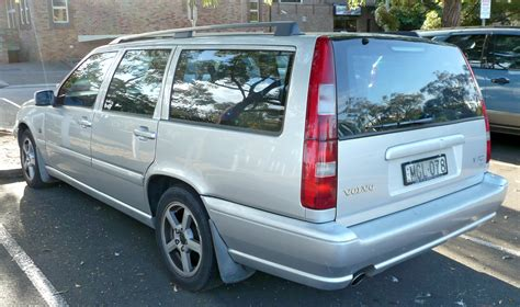 volvo station wagon 1998 volvo v70 history of model photo gallery and list of