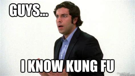 Fu Meme - chuck i know kung fu memes quickmeme