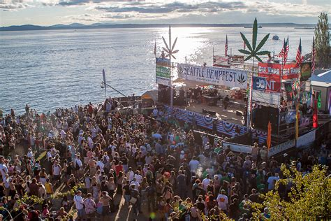 seattle events seattle hempfest fires up 25th annual event this weekend