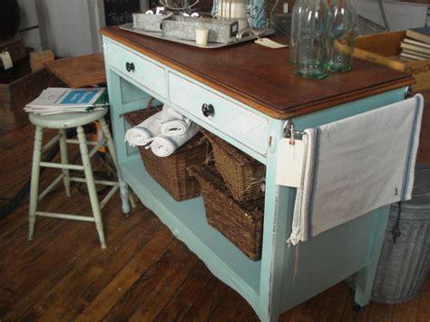 repurposed kitchen island ideas majestic repurposed dresser to kitchen island with antique wooden drawer knobs also vintage