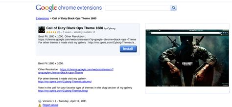theme google chrome call of duty call of duty black ops theme for google chrome i have a pc