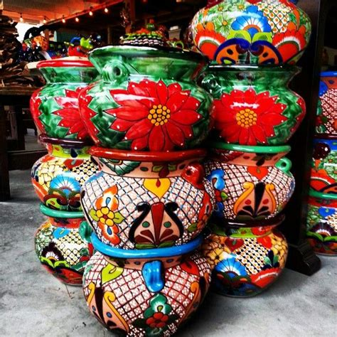 Mexican Planters Outdoor by Talavera Planter Pots Contact Us At 713 880 2105 Mexican