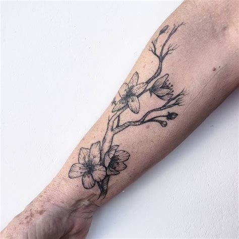 cherry blossom tattoo japanese blossom tree tattoo