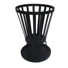jumbuck steel pit brazier pit blk w handles ash tray k5113 bunnings