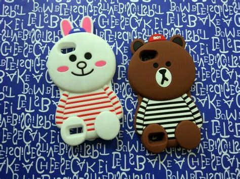 New 4d Brown Baju Oppo Neo 9 A37 Karakter Soft 3d Boneka jual oppo neo 7 soft 3d 4d karakter line brown cony silicon di lapak