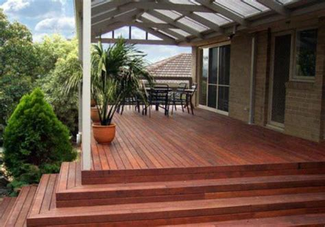 Patio Deck Flooring Options Elevated Decking Design Ideas Get Inspired By Photos Of