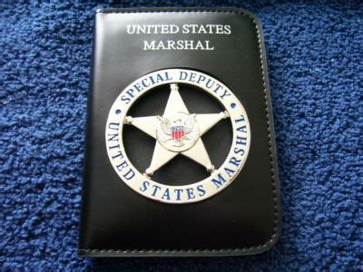 a retired us marshal s guide to becoming a enforcement officer books special deputy u s marshal badge 170451178