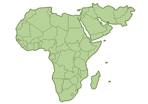 middle east map africa map of middle east and africa