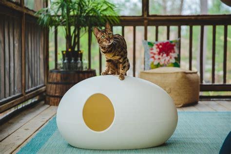 chat decoration maison niche pour chat une s 233 lection de maisons f 233 lines tr 232 s design
