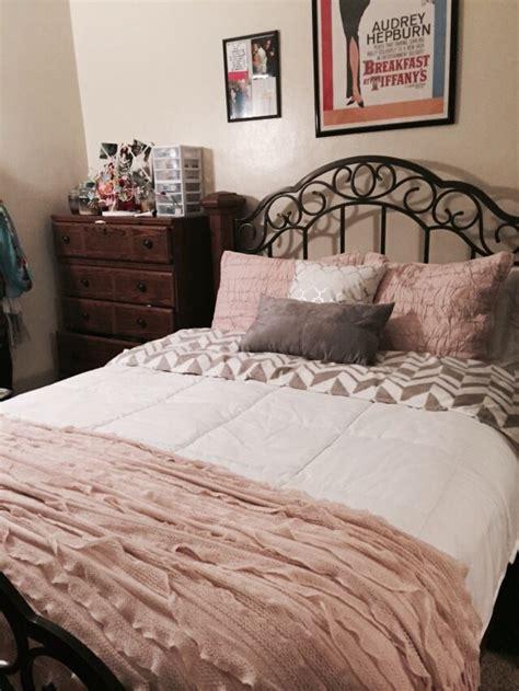Blush Pink Comforter by Blush Pink And Grey Bedding Menu Template Design