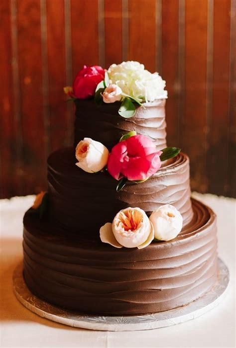 Chocolate Wedding Cake Ideas by Delicious Flowers D 233 Cor Chocolate Wedding Cake Ideas