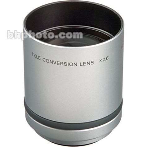 Sony Tele Conversion Vcl Dh2637 For Lens Ring 37mm sony 2 6 tele conversion lens fits sony cyber vcl