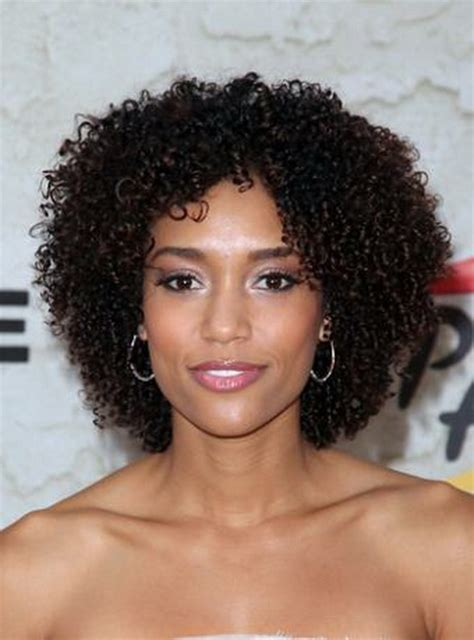 styling natural afro short curly afro hairstyles