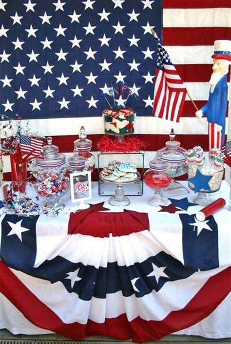 4th of july home decor 45 decorations suggestions bringing the 4th of july spirit