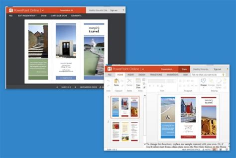 powerpoint templates for brochures travel brochure maker templates for powerpoint