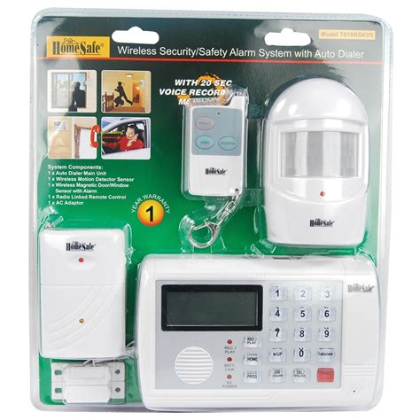 alarm system homes homesafe 174 4 wireless home security system the home