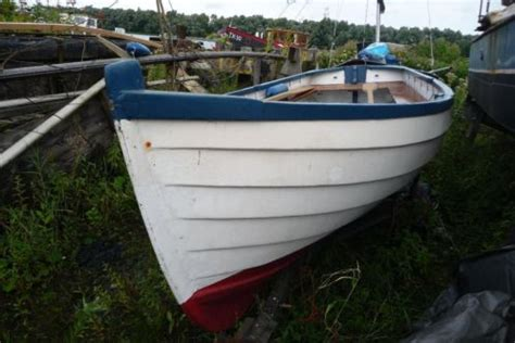 overnaadse roeiboot overnaadse 12 voets roeisloep advertentie 597228