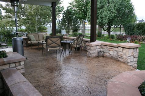 covered concrete patio ideas www pixshark images