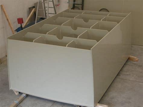vasca galvanica vasche per prodotti chimici in pvc polipropilene per