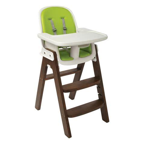 high chairs oxo tot sprout highchair green walnut at winstanleys pramworld